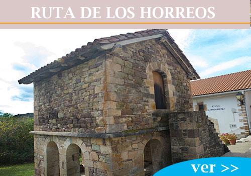 RUTA DE LOS HORREOS