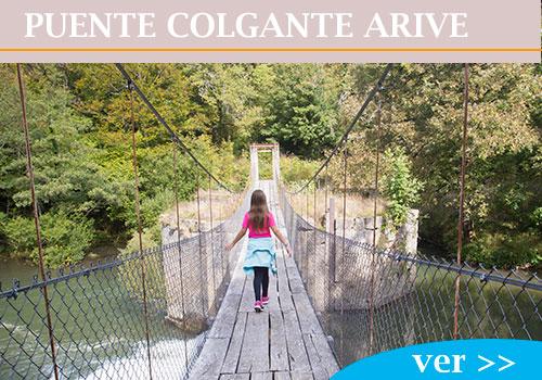 PUENTE COLGANTE DE ARIVE